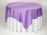 Table Cloth Hire - purple overlay