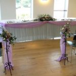 Table Cloth Hire - Table Swags