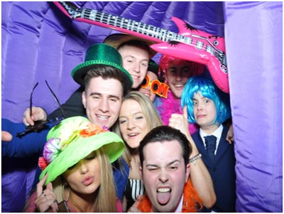 photo booth hire tyne events