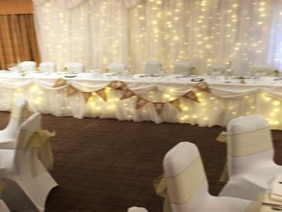 Starlit Backdrop Packages Tyne Events