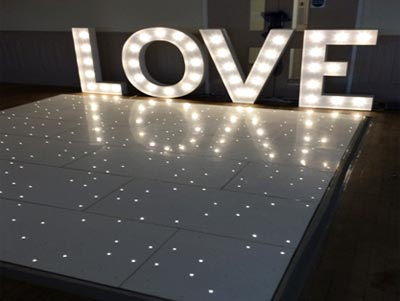 Starlit Dance Floor Hire Tyne Events