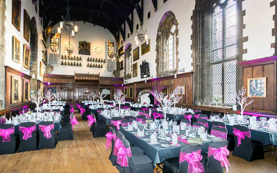 Venue Decor Durham Castle
